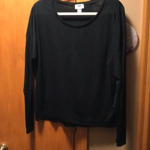 Old Navy Black Long Sleeve T Shirt size XL